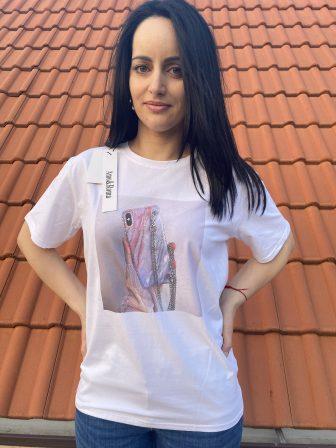 Тениска Selfie time Amo & Roma 92406
