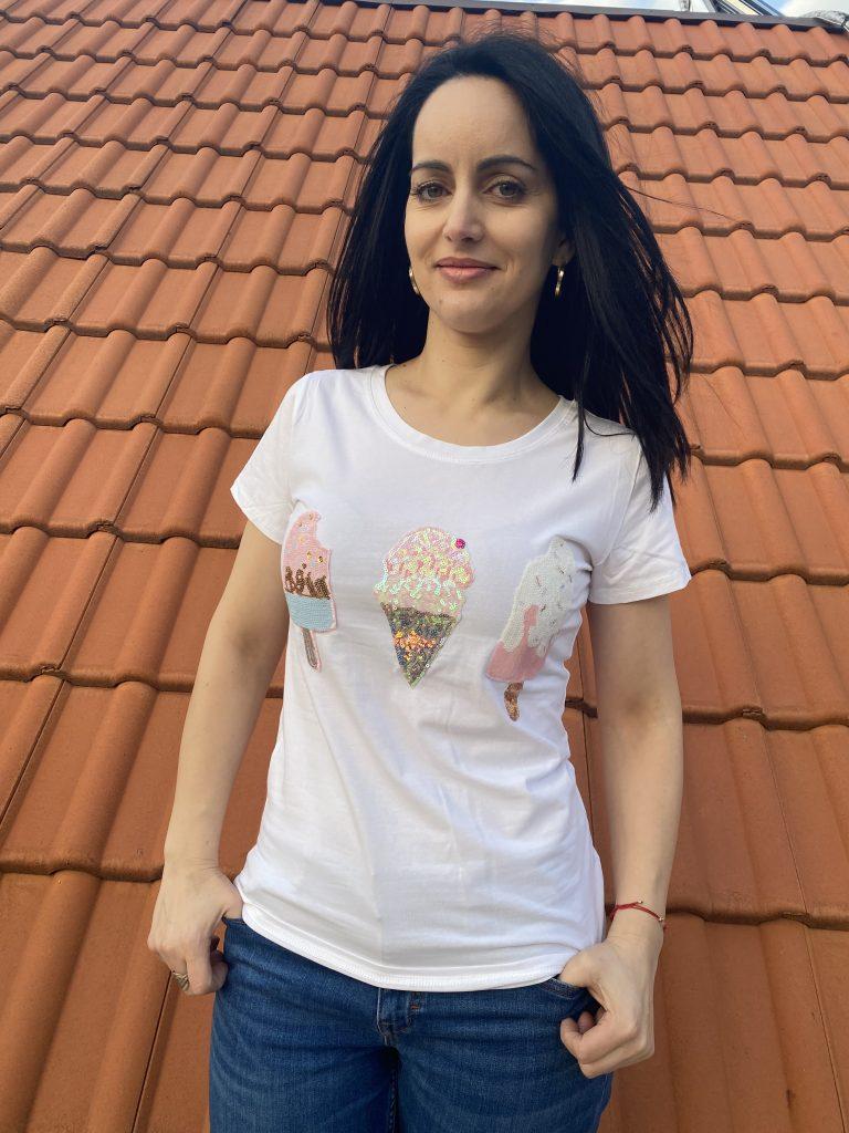 Тениска Ice cream Foresta Bella R835 - 0
