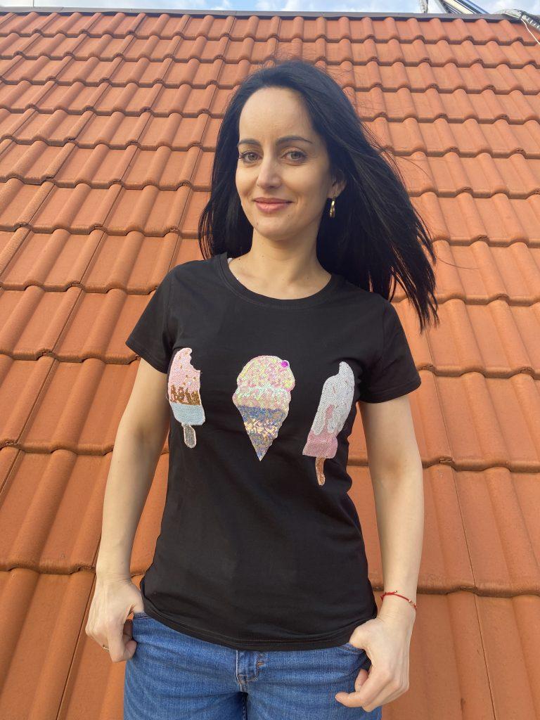Тениска Ice cream Foresta Bella R835