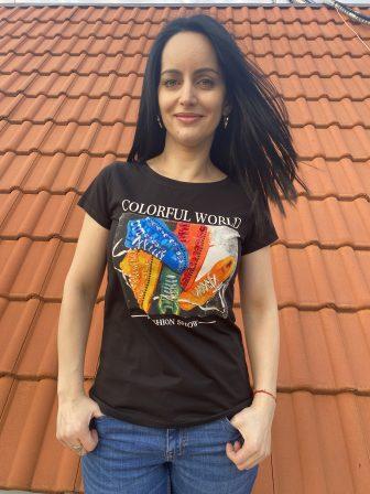 Тениска Colorful World Miss Kiss 30056 - 0