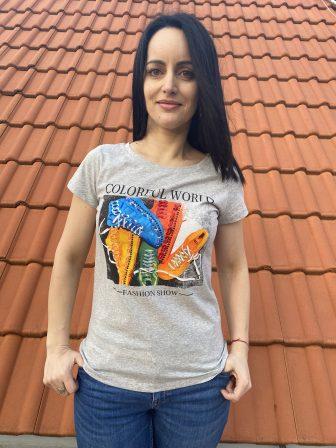 Тениска Colorful World Miss Kiss 30056