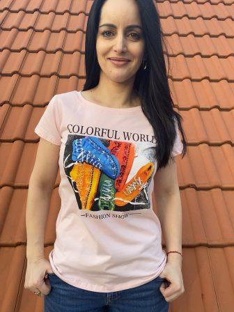 Тениска Colorful World Miss Kiss 30056 - 2