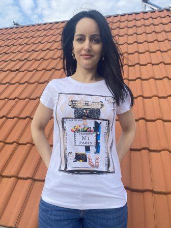 Тениска парфюм №1 Miss Kiss 60010 - 1