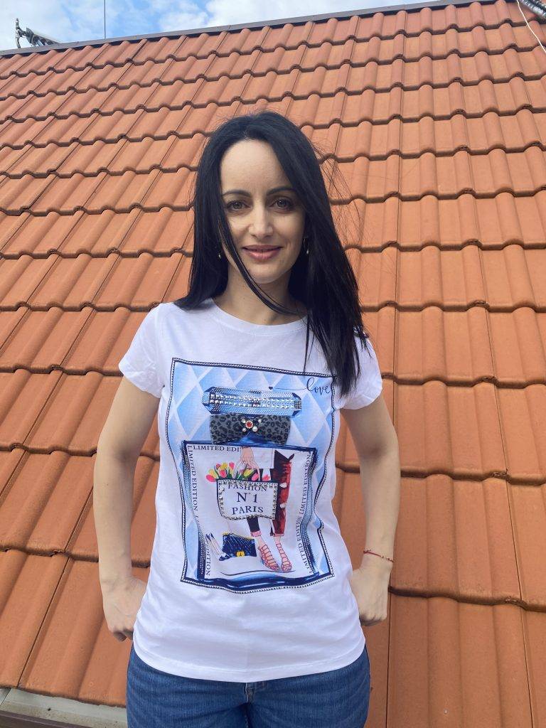 Тениска парфюм №1 Miss Kiss 60010