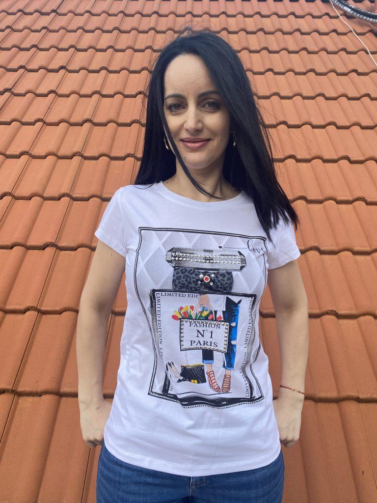 Тениска парфюм №1 Miss Kiss 60010 - 0
