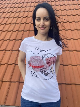 Тениска Weekend Miss Kiss 60039