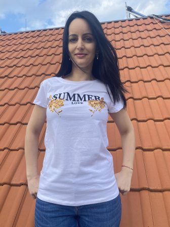 Тениска Summer love Miss Kiss 60231 - 0