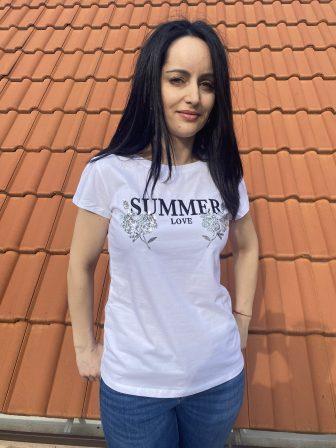 Тениска Summer love Miss Kiss 60231