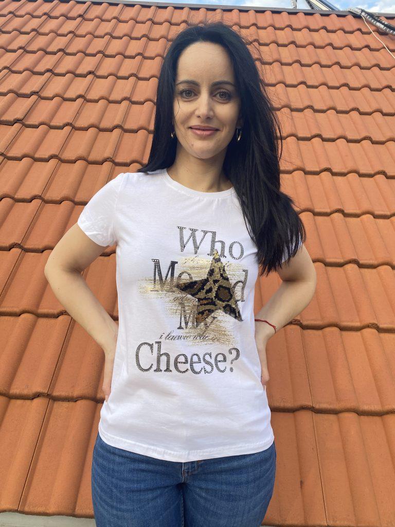 Тениска Who moved my cheese? Pretty Woman 9001 - 0