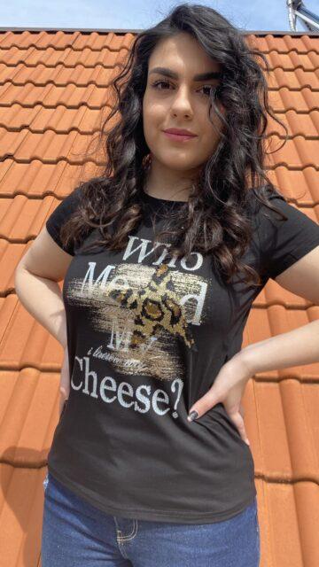 Тениска Who moved my cheese? Pretty Woman 9001 - 2