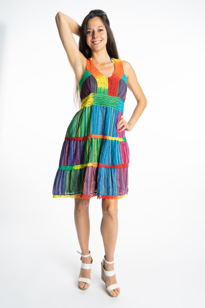 Дамска рокля Rainbow Siya 10190 - 0