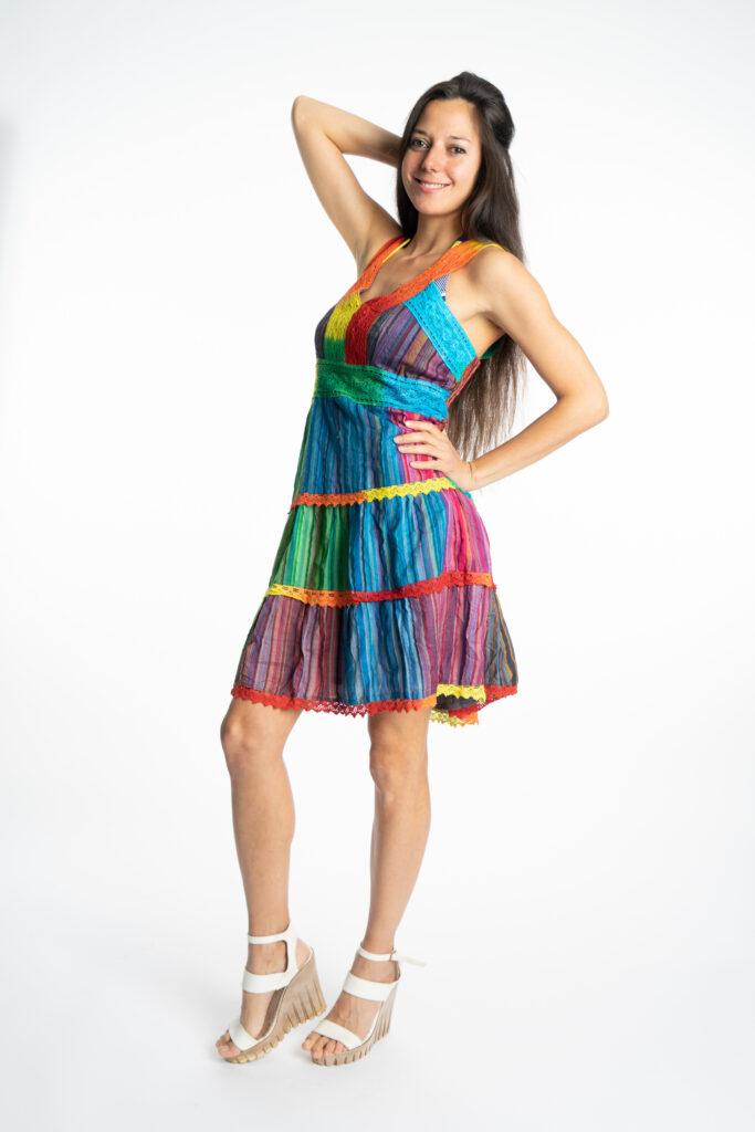 Дамска рокля Rainbow Siya 10190