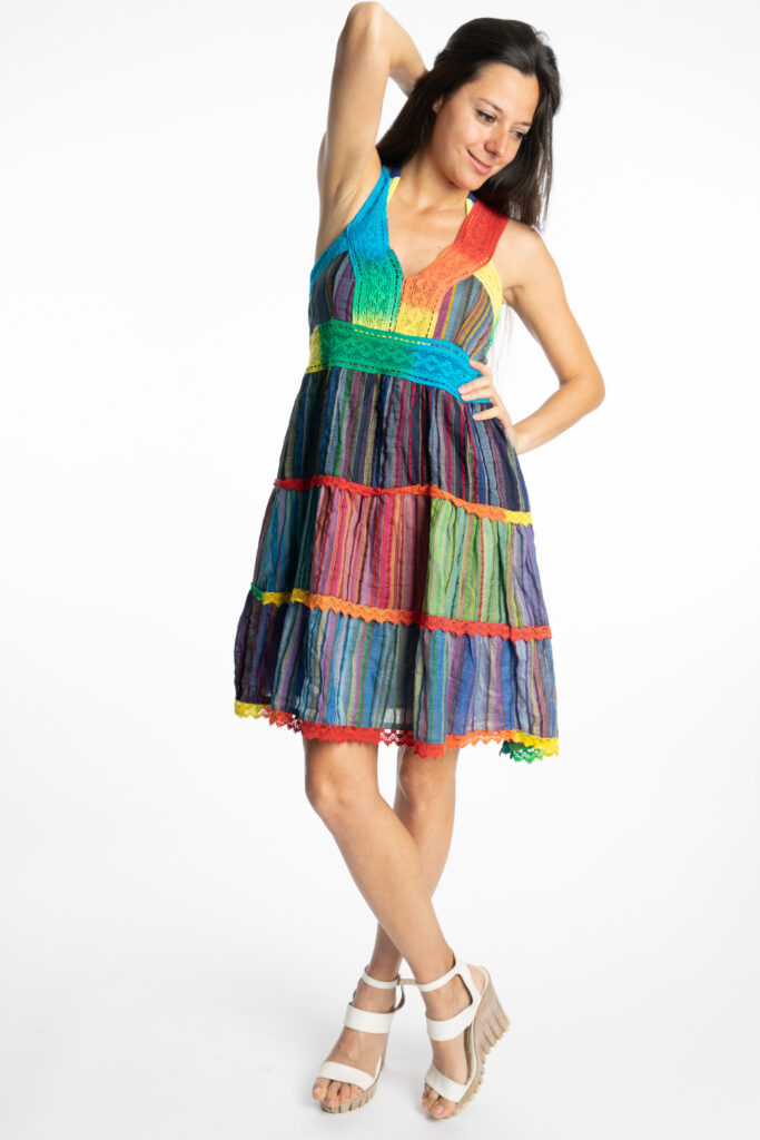 Дамска рокля Rainbow Siya 10190 - 5
