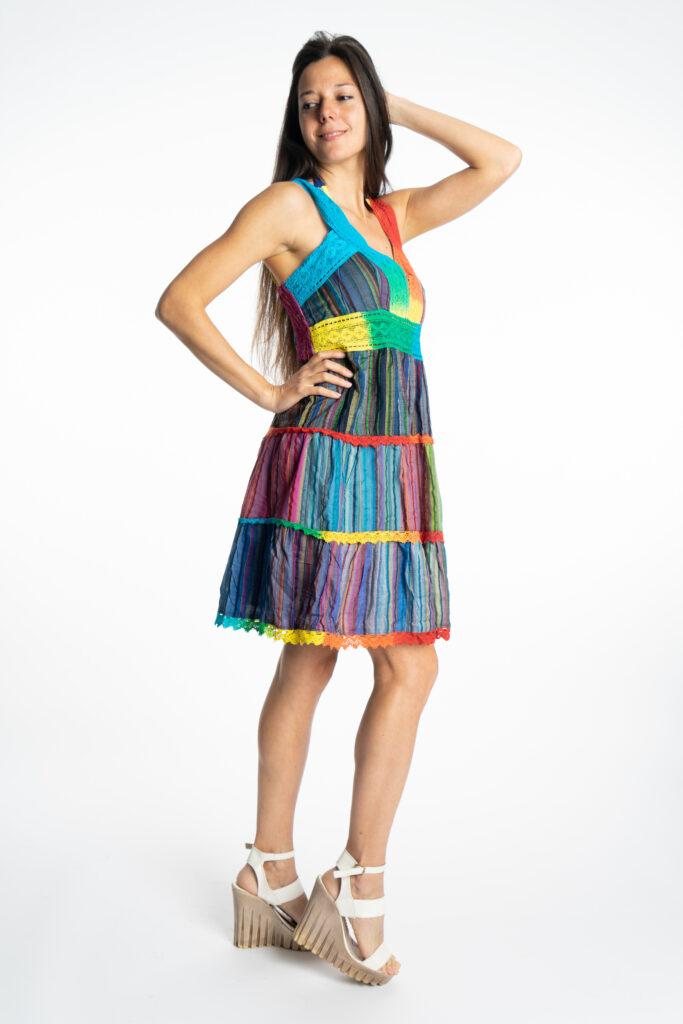 Дамска рокля Rainbow Siya 10190 - 6