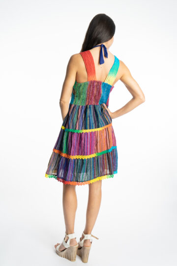Дамска рокля Rainbow Siya 10190 - 7