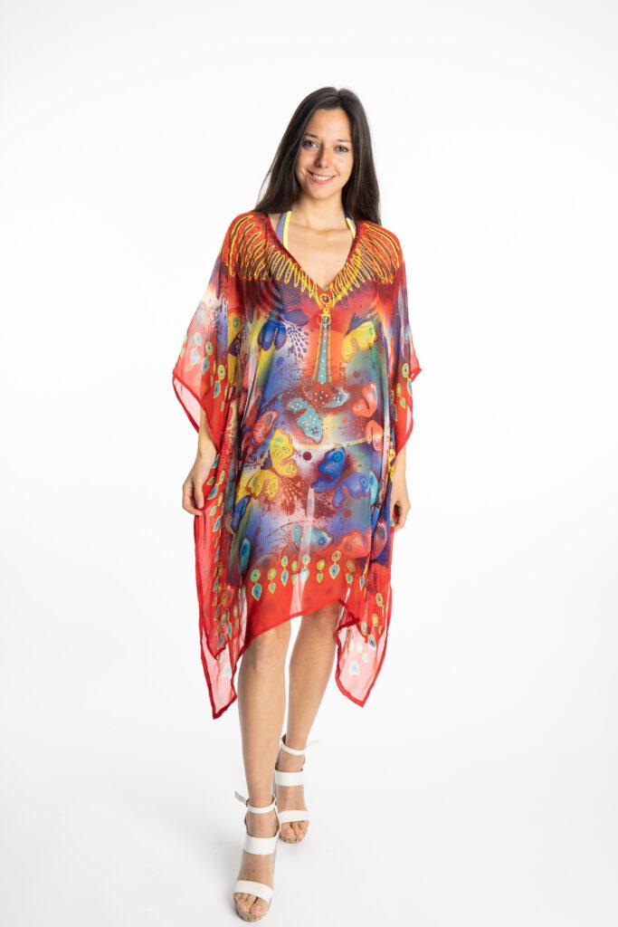 Дамска рокля-туника Butterfly 19924 - 0