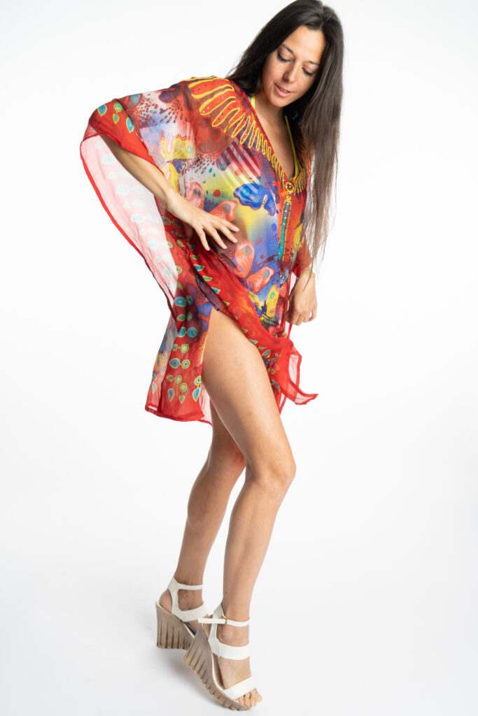 Дамска рокля-туника Butterfly 19924 - 2
