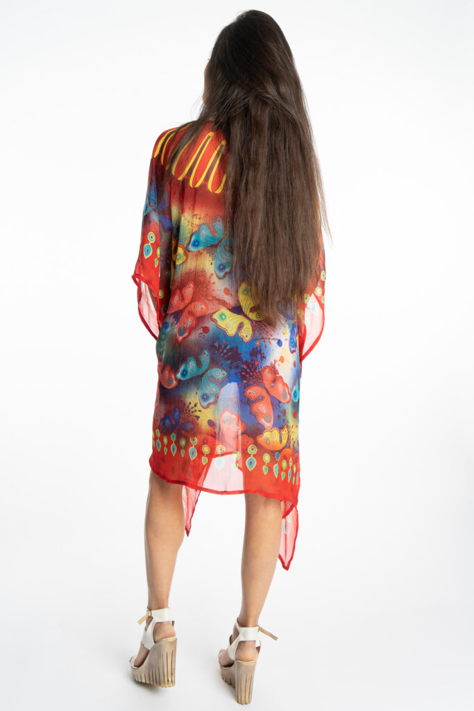 Дамска рокля-туника Butterfly 19924 - 3