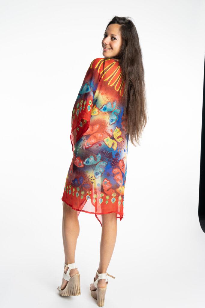 Дамска рокля-туника Butterfly 19924 - 4
