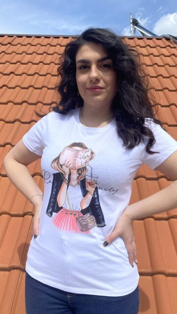 Тениска Read, pray and love Amo&Roma 2161 - 1