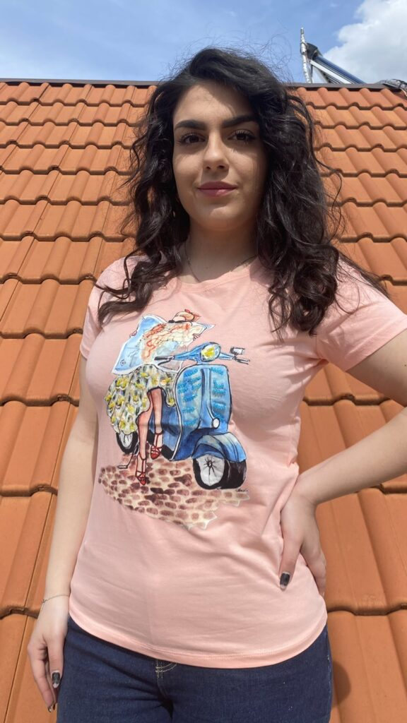 Тениска World Journey Elisa 2187