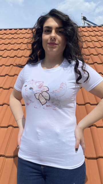 Тениска Sweet kitten Foresta Bella 1651