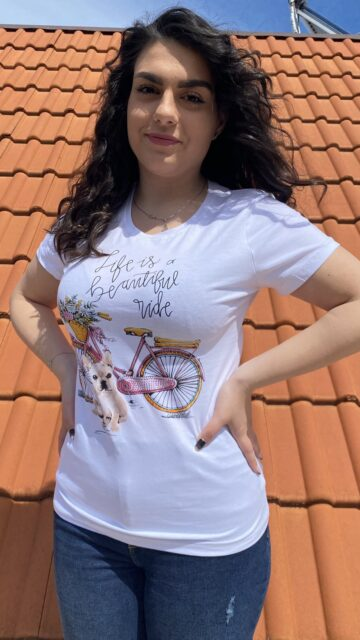Тениска Life is a beautiful ride Just Queen 2199 - 0