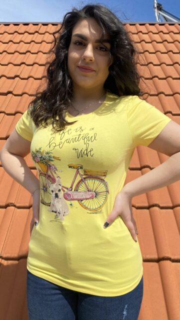 Тениска Life is a beautiful ride Just Queen 2199