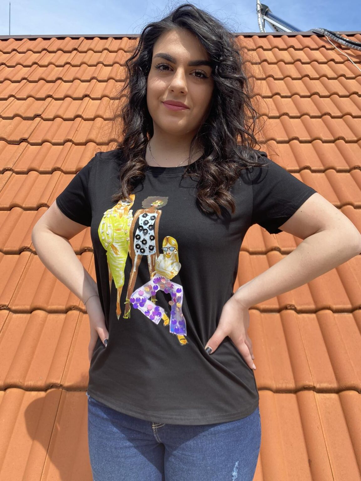 Тениска Fashion girls Lamer&Co 7785