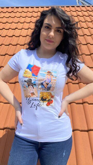 Тениска Beautiful life Monte Cervino 5078