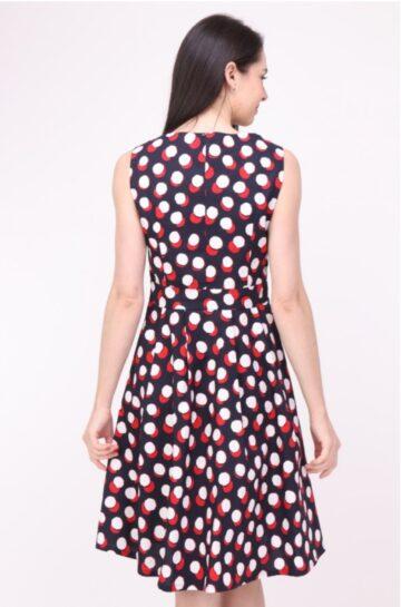Дамска разкроена рокля Sweet Miss M112659 - 0