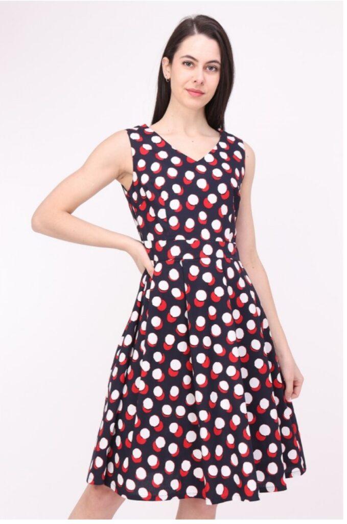 Дамска разкроена рокля Sweet Miss M112659