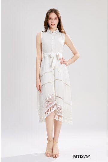 Дълга рокля с яка Sweet Miss М112791