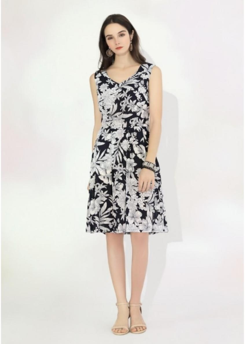 Дамска памучна рокля Sweet Miss M112057