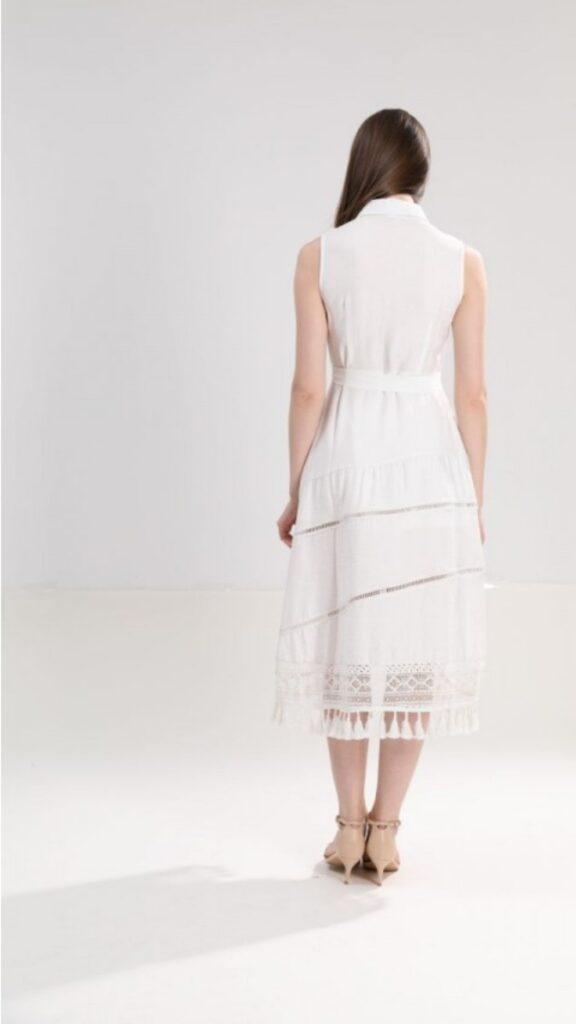 Дълга рокля с яка Sweet Miss М112791 - 0