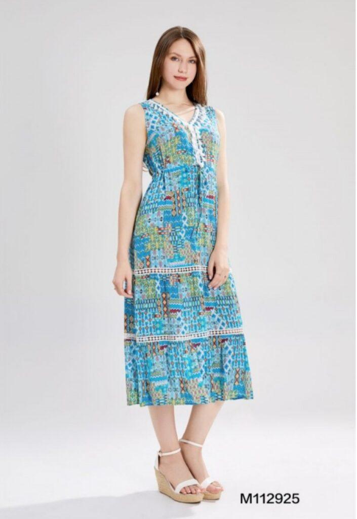 Дълга разкроена рокля Sweet Miss M112925