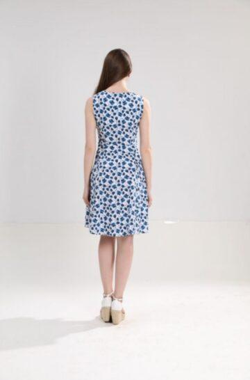 Памучна рокля на цветя Sweet Miss M112823 - 0