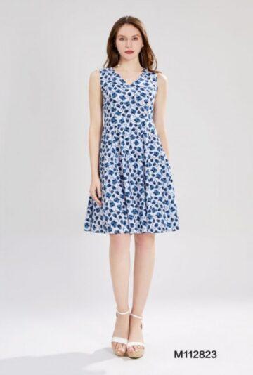 Памучна рокля на цветя Sweet Miss M112823