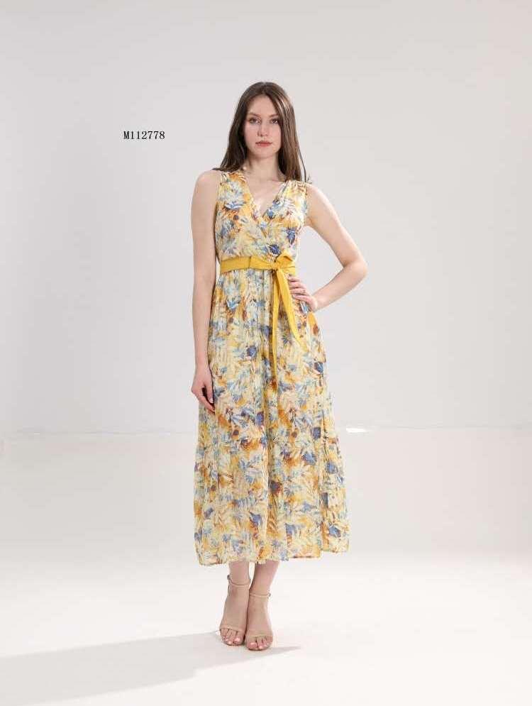 Дамска ефирна дълга рокля Sweet Miss M112778