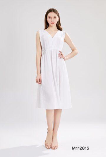 Едноцветна памучна рокля Sweet Miss M112815